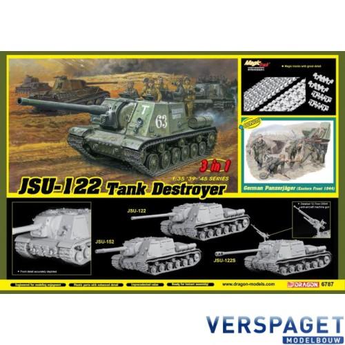 JSU-122 vs Panzerjäger (3 in 1) JSU-122, JSU-122S or JSU-152 -6787