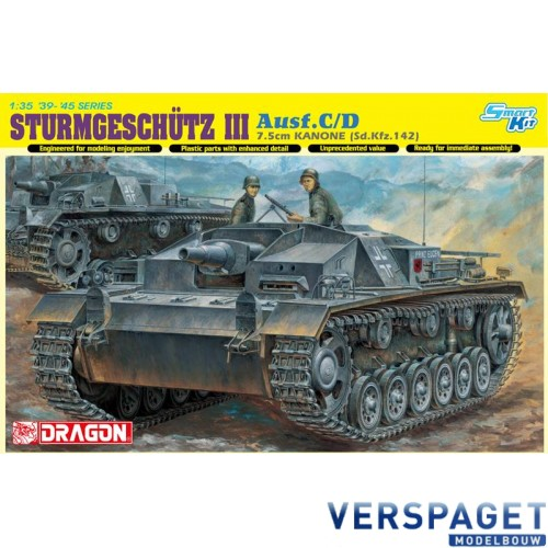 Sturmgeschütz III Ausf C/D  7.5cm KANONE (SdKfz 142) -6851