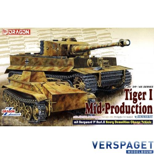 s.Pz.Abt.508, C Company Pz.Kpfw.VI Ausf.E Tiger I Mid Production w/Zimmerit -6866