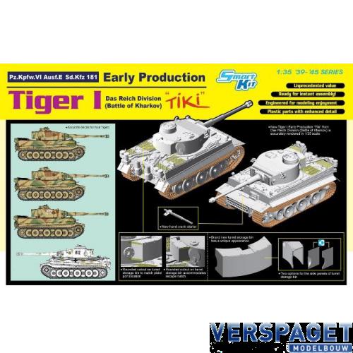 "Tiger I Early Prod. ""Tiki""Das Reich div. (Battle of Kharkov) -6885"