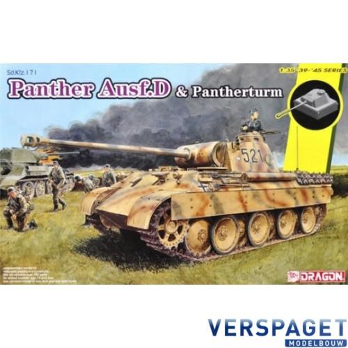 Sd.Kfz.171 Panther Ausf.D & Pantherturm -6940