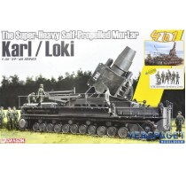 The Super-Heavy Self-Propelled Mortar Karl / Loki w/German Artillery Crew -6946