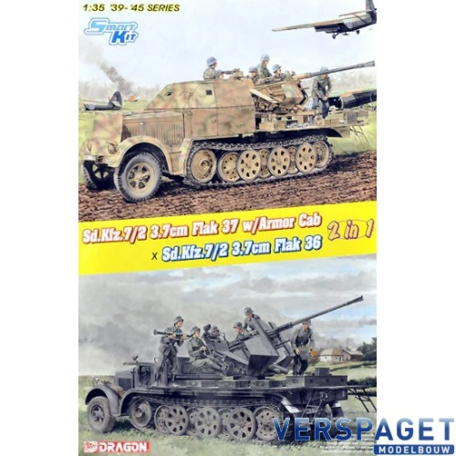Sd.Kfz.7/2 3.7cm Flak 37 with Armor Cab / Sd.Kfz.7/2 3.7cm Flak 36 -6953