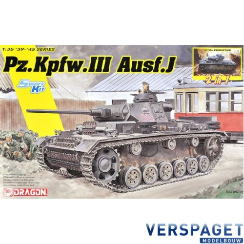 Pz.Kpfw. III Ausf.J / Initial Production -6954