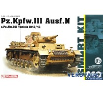 Pz.Kpfw.III Ausf.N s.Pz.Abt.501 Tunisia 1942/43 -6956