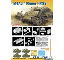 Sherman tank M4A3 105mm HVSS -7313