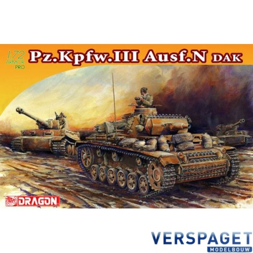 Pz.Kpfw.III Ausf.N DAK -7386