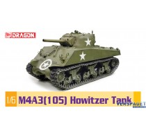 M4A3 105 Howitzer Tank -75046