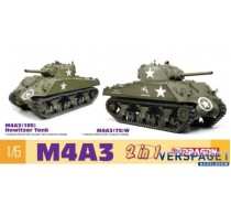 M4A3 105 Howitzer Tank / M4A3 75 W -75055