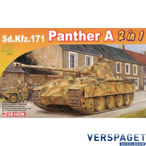 Sd.Kfz.171 Panther Ausf. A (2in1) -7546