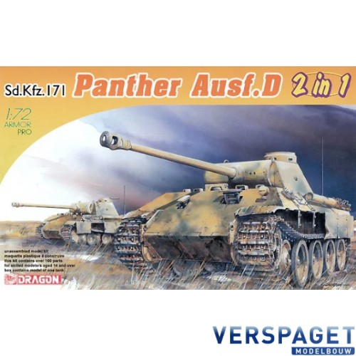 Sd.Kfz.171 Panther Ausf. D Early/Late 2 in 1 -7547