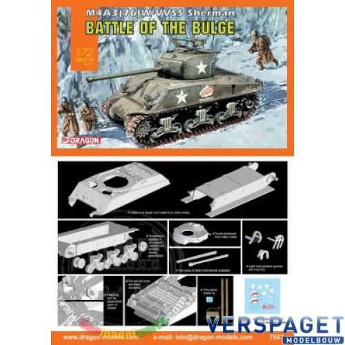 M4A3(76)W VVSS Sherman (Battle Of The Bulge) -7567