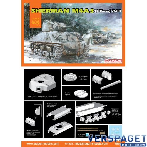 Sherman M4A3 (105mm) VVSS -7569