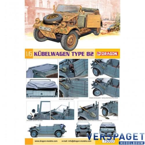 Kubelwagen Type 82 - 75003