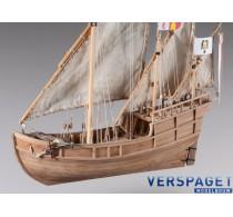 Nina Ship of Christopher Columbus -D012