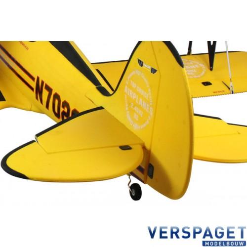 WACO WMF-5C YELLOW BI-PLANE Dyn8952Yellow