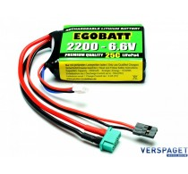 LiFe Battery 2200 - 6.6V 25C -C8350
