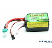LiFe Battery 4000 - 6.6V 25C -C8381