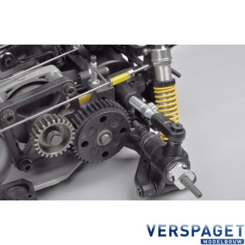Audi R8  4WD 530 RTR Chassis + Audi R8  & 26 CC Zenoah 2 Takt Motor RTR