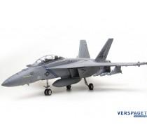 F/A-18F HORNET 70MM EDF ARTF GREY -FMS100P