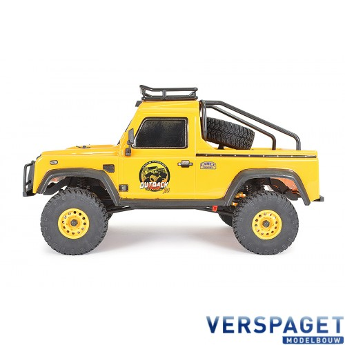 OUTBACK RANGER XC PICK UP RTR 1:16 TRAIL CRAWLER - YELLOW -FTX5588Y
