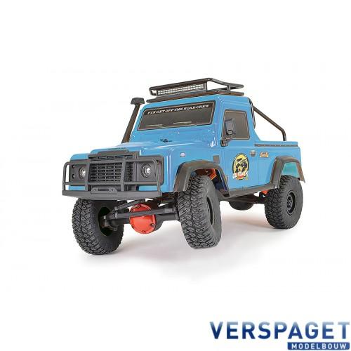 OUTBACK RANGER XC PICK UP RTR 1:16 TRAIL CRAWLER - BLUE -FTX5588B