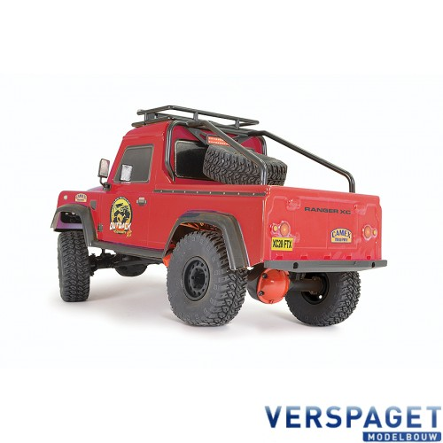 OUTBACK RANGER XC PICK UP RTR 1:16 TRAIL CRAWLER - RED -FTX5588R