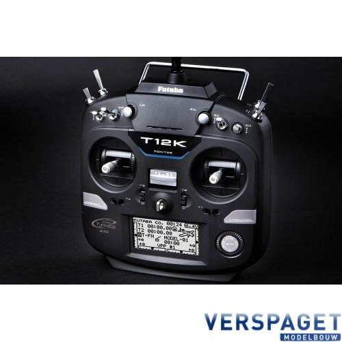 T12 K Zenderset Mode 2 & Ontvanger R3008SB & Zenderaccu & Lader