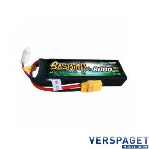 Bashing Series 5000mAh 14,8 4S1P 50C-100C Hardcase Lipo Batterij - XT90 Stekker