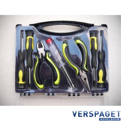 Gereedschapset Elektronica 7 Delig -001901