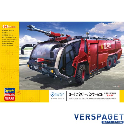 Rosenbauer Panther 6×6 Airport Crash Tender -52268