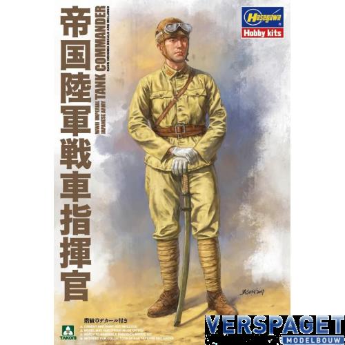 WWI Japanse Panzer Kommandant -01005
