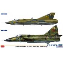J35F Draken & SH37 Viggen F13 Wing -02281