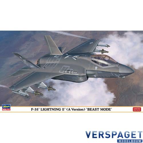 F-35 LIGHTNING II A Version BEAST MODE -02315