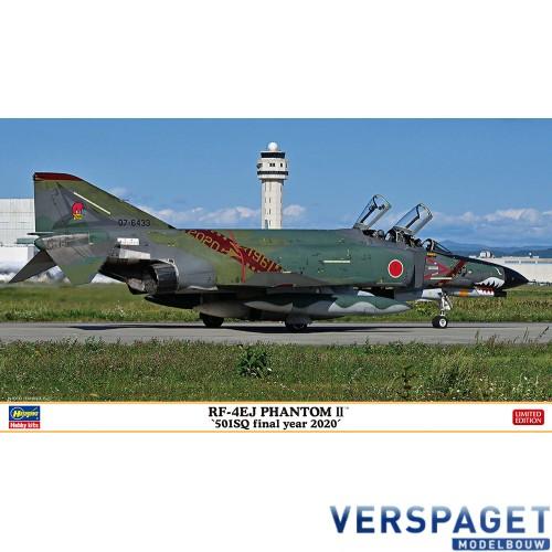 RF-4EJ PHANTOM II 501SQ final year 2020