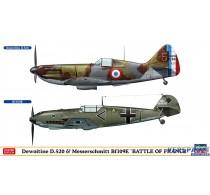 Dewoitine D.520 & Messerschmitt Bf109E BATTLE OF FRANCE -02332