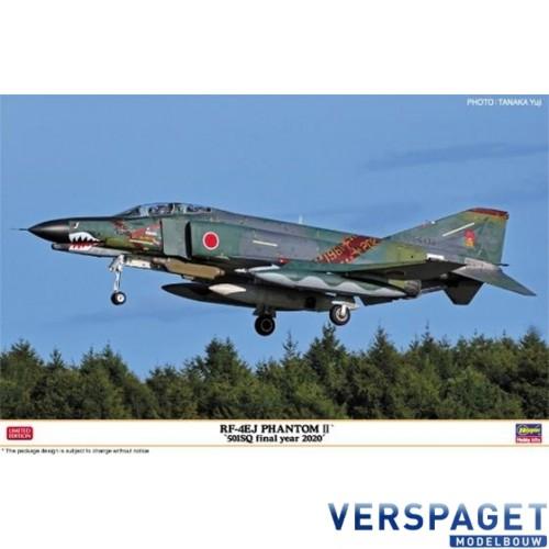 RF-4EJ PHANTOM II 501SQ final year 2020 -07487