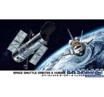 SPACE SHUTTLE ORBITER & HUBBLE SPACE TELESCOPE -10676