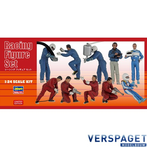 Racing Figure Set (10 figure parts in the box) -20295
