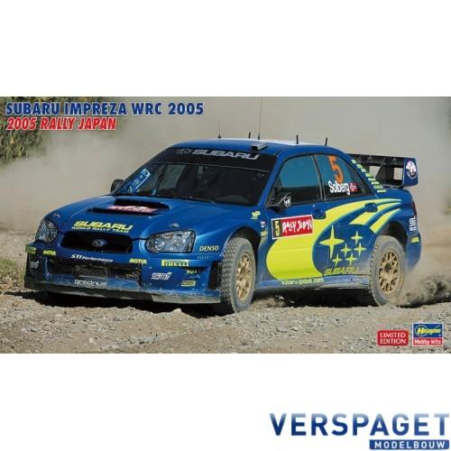 Subaru Impreza WRC 2005 Rally Japan -20353
