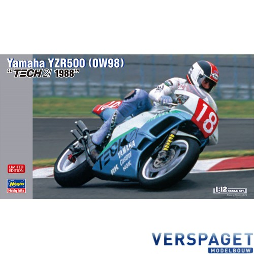 Yamaha YZR500 0W98 TECH21 1988 -21703