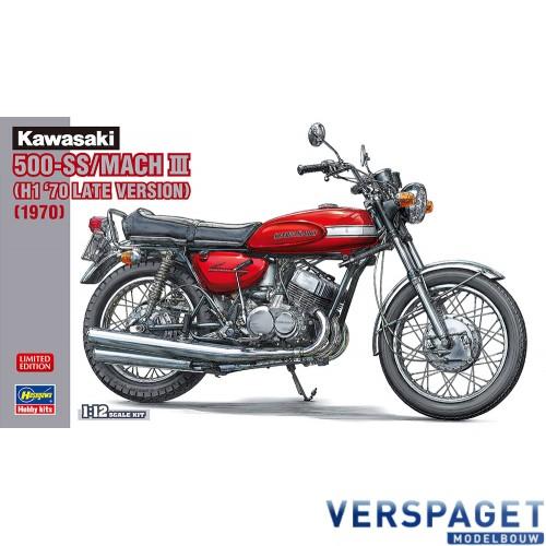 Kawasaki 500-SS/MACH III (H1 '70 Late Version) (1970) -21731