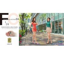 FASHION MODEL GIRLS FIGURE (2 kits in the box) -29104