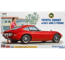Toyota 2000GT W/ 60s Girl Figure -52166