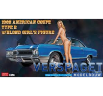 1966 American Coupe Type B w/Blond Girl's Figure -52213
