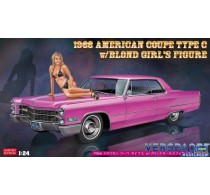 1966 American Coupe Type C w/Blond Girl's Figure -52232