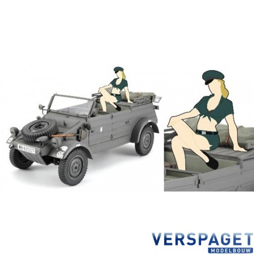 Pkw.K1 KÜBELWAGEN TYPE 82 w/BLOND GIRL'S FIGURE -52253