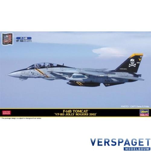 F-14B TOMCAT VF-103 JOLLY ROGERS 2002 -52254