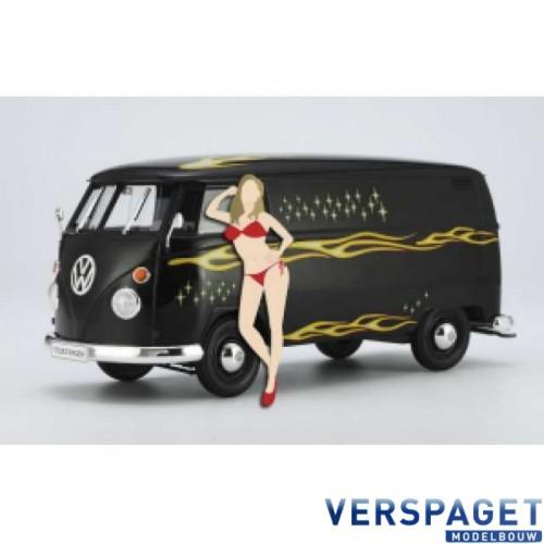 VW Type 2 Delivery Van 1967 with figure -52264