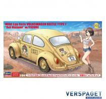 Wild Egg Girls Volkswagen Beetle Type 1 Rei Hazumi with Figure -52288